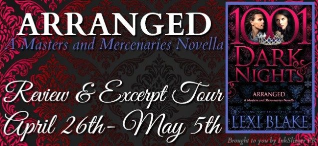 ARRANGED - Tour banner